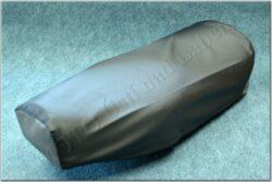 Seat cover, black ( Pionyr 23, Jawa 90 )