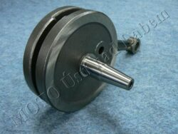 Crankshaft ( Pio 21,23 ) mounting w/ needle bearing