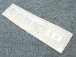 Sticker BABETTA - silvery 145x37