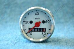 speedometer 80 km / h - backlit (BAB, Simson S50) EU