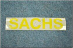 sticker  SACHS big yellow ( Jawa 50 Dandy )