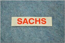 sticker  SACHS small red ( Jawa 50 Dandy )