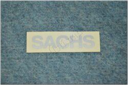 sticker  SACHS small silver ( Jawa 50 Dandy )