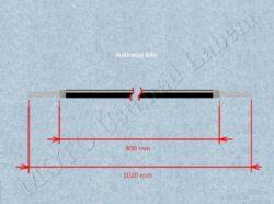 Bowden cable, Clutch ( ČZ 125 A )(300130)