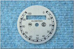 Dial, Speedometer 100km ( ČZ B,T,C ) PAL-ČZ / D =57mm