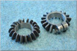 Collars, exhaust pipe ( ČZ 125 B,T ) black