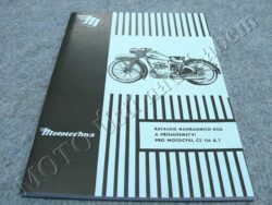 Spare parts catalogue ( ČZ 125 B,T )