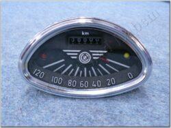 Speedometer 120 km/h ( ČZ )