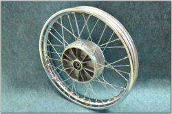 """wheel 18"""" x 1,85 - with seal (Jawa,ČZ ) chrome"""