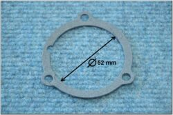 Gasket 1,0 , crankshaft bearing cap ( ČZ 125,175 )