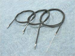 Bowden Cables, set 3pcs. w/o adjuster ( ČZ 501 )