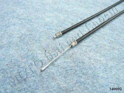 Bowden Cables, set 4pcs. w/ adjuster + Rrb ( ČZ 502 ) original(340038)