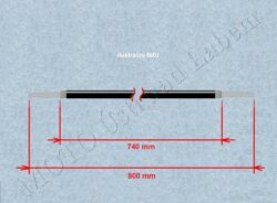 Bowden cable, Choke ( Simson S51 Electronic )(520014)