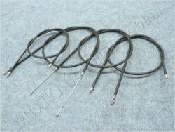 Bowden Cables, set 4pcs. ( Simson S51 Enduro ) CZK