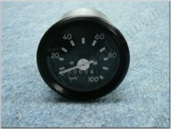 Speedometer w/o pilot light ( Simson S51 ) orig.