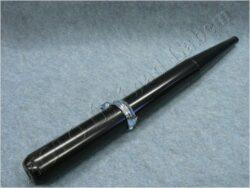 výfuk - tlumič výfuku komplet ( Simson S51 Electronic ) černý