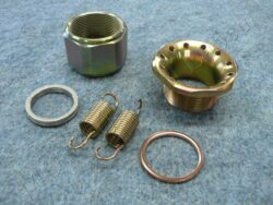 Exhaust pipe assembly kit ( Simson S50,S51,scooter )