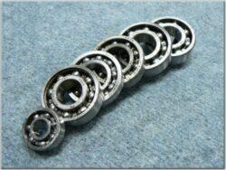 Engine bearings - set 6pcs. ( Simson S51 )