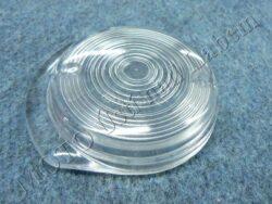 Glass round, Fr. turn signal light ( Simson )