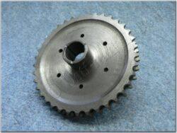 Chain wheel w/ clutch housing basket ( MZ 150 )