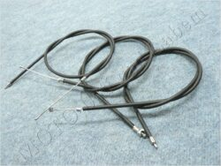 Bowden Cables, set 3pcs. ( ETZ 150 )