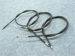Bowden Cables, set 3pcs. ( ETZ 150 )