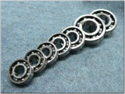 Engine bearings - set 7pcs. ( MZ 250 ETZ )