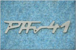 Logo PAV 41 ( PAV ) 0,08mm