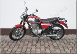 Motocycle Jawa 350 OHC/ 845 red