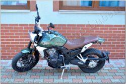 motorcycle Jawa 500 RVM SCRAMBLER - green