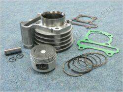 Cylinder assy. 47,00, 4T, pin 13,00 ( GY6 - Yamaha - See )