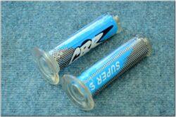 Grip, handlebar - blue, L+R CBR J-157 ( Honda )