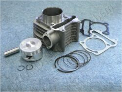 Cylinder assy. 57,00, 4T, pin 15,00 ( GY6 150 ccm )