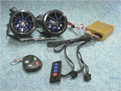 alarm + MP3 přahrávač - SD,USB ( UNI )