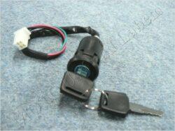 Ignition switch ( ATV 110 ) plug connector
