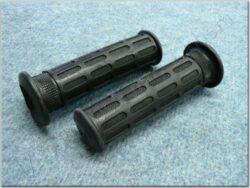 Grip, handlebar - black, L+R ( Honda ) 130mm