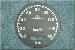 Dial, Speedometer 160km ( M72 ) D=77mm