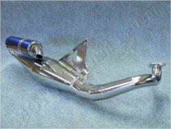 Exhaust, assy. V8 ( Yamaha-3KJ, Motowell ) 3KJ-12W