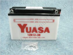 akumulátor 12V 12Ah YUASA 12N12-3B ( 202x76x134 )
