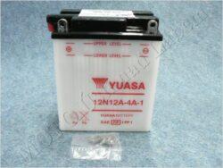 akumulátor 12V 12Ah YUASA 12N12A-4A-1 ( 136x82x162 )