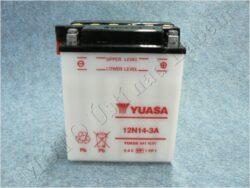 akumulátor 12V 14Ah YUASA 12N14-3A ( 136x91x168 )