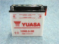 akumulátor 12V 5,5Ah YUASA 12N5.5-3B ( 138x61x131 )