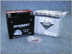akumulátor 12V 4Ah Dynavolt YTX5L-BS ( 113x70x105 )