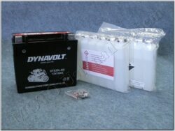 Battery assy. 12V 18Ah Dynavolt YTX20L-BS ( 175x87x155 )