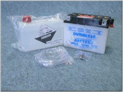 akumulátor 12V 4Ah Dynavolt YB4L-B ( 121x71x93 )