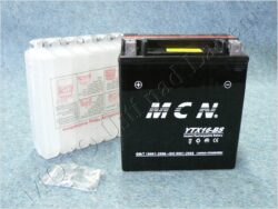 Battery assy. 12V 16Ah MCN YTX16-BS ( 148x87x163 )