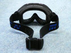 Motocross Goggle MCN - black, children(870010)