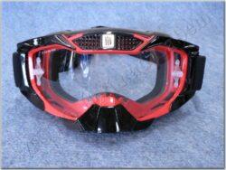 brýle cross MX-902 Rojo ( SHIRO ) červené