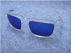 Motorcycle Goggle - blue glasses ( SHIRO )