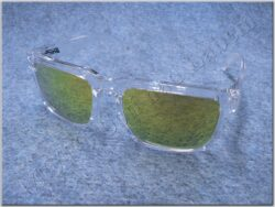Motorcycle Goggle - gold glasses ( SHIRO )